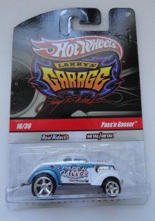 Hot Wheels Larrys Garage 16 39 Pass N Gasser Metal Metal Signed