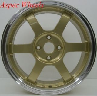 Rota Grid 16x7 4x100 ET40 67 1 Royal Gold Rims Wheels