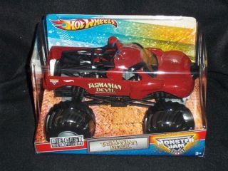 Hot Wheels Monster Jam Truck Tasmanian Devil 1 24 Diecast Truck