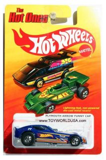 2012 Hot Wheels The Hot Ones Plymouth Arrow Funny Car