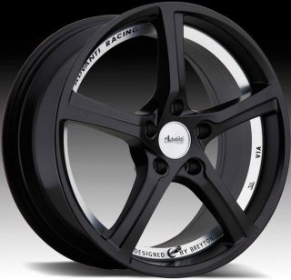 Racing 15th Anniversary 5x112 ET50 Matte Black Rims Wheels