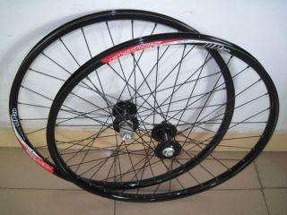 DP20 26 Disc Brake 32h MTB F R Black Wheels Wheelset W34