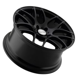 18 Avant Garde M310 Matte Black Wheels Rims Fit Volkswagen CC EOS