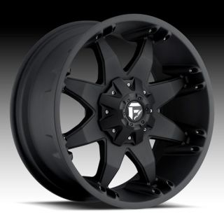 17 Wheels Rims Fuel Off Road Octane Matte Black Suburban Wrangler