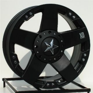 17 inch Black Wheels Rims Ford F250 F350 Super Duty 8 Lug Truck 8x170