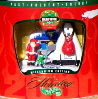 1999 Hot Wheels Holiday Future Santa Claus X 33 NASA Space Shuttle