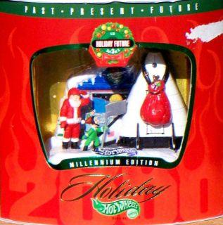 1999 Hot Wheels Holiday Future Santa Claus X 33 NASA Space Shuttle