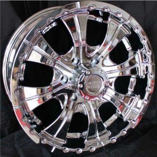 18 Inch CHROME RIMS 6 Lug Wheels Chevy Tahoe GMC Toyota Tacoma