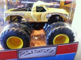 Hot Wheels Bulldozer Monster Truck