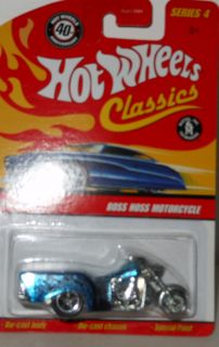 Hot Wheels Classiccs Boss Hoss Motorcycle 11 Scale 1 64