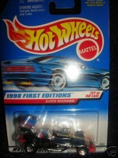 Hot Wheels 1998 First Editions Super Modified Race Car New 27