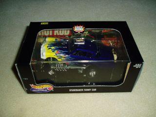 Hot Wheels Studebaker Funny Car 1 43 Die Cast SEALED RARE