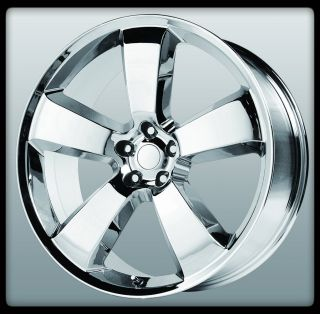 Replicas V1150 SRT8 Chrome Charger 5x115 Wheels Rims 22 Inch