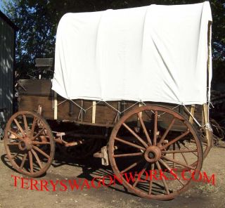chuck farm wagon wood wheels stage coach horse drawn concord