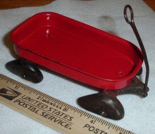 1930s Wyandotte Wagon Art Deco Fenders Wood Wheels
