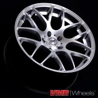 18 inch Hyper Silver V710 Wheels BMW 3 Series E46 M3 325i 330i