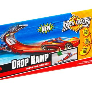FREE SHIP Hot Wheels Trick Tracks Drop Ramp Stunt Set Car Vehicle Boy