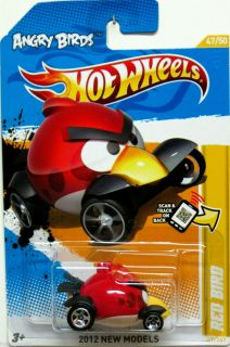 Angry Birds Red Bird Hot Wheels 2012 New Models 47 50 Awesome