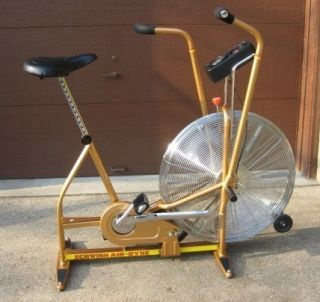 Airdyne exercise bike stationary bicycle Front Wheels AIR FAN SEAT