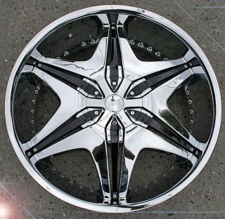 Akuza Big Papi 712 22 Chrome Rims Wheels Acura MDX RDX