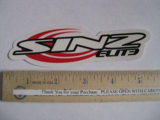 Sinz Elite Wheels MTB Bike Frame Bicycle Decal Sticker