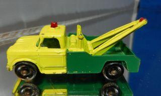 Matchbox Lesney Regular Wheels 13 Dodge Wreck Truck Tow Wrecker BP
