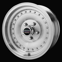 15 inch American Racing 15x7 Wheels Rims for Chevy 5x4 75 Old School