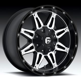 Fuel Offroad Hostage Wheel Set XD Black 20x12 Deep Dish Rims