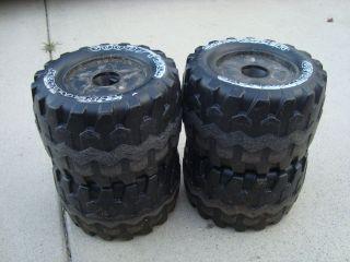 Power Wheels Tires Standard Jeep Black