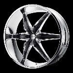 20 Inch Chrome Black Rims Wheels Chevy Tahoe Avalanche Silverado 1500