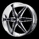 20 Inch Chrome Black Rims Wheels Chevy Tahoe Avalanche Silverado 1500