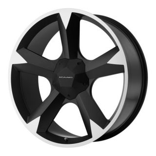 20 KMC Clone Wheel Set Black 20inch Rims Set Clone