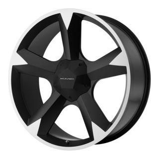 20 KMC Clone Wheel Set Black 20inch Rims Set Clone