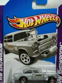Hot Wheels 2013 Asphalt Assault Series Primer Grey '55 Chevy Bel Air