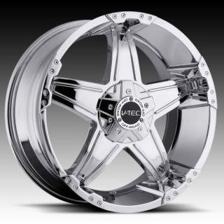 17 vtec 395 Chrome Wheels Rims Nissan Titan Armada