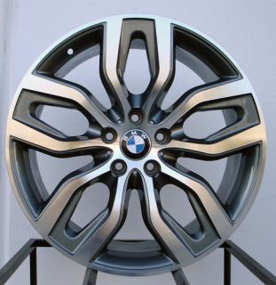 Matte Black Machined Face Wheels Rims Fit BMW x5 E53 E70