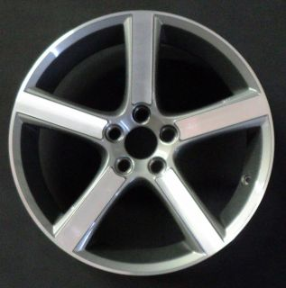 2011 Volvo C30 C70 S40 V50 18 5 Spoke Factory OEM Wheel Rim H# 70339