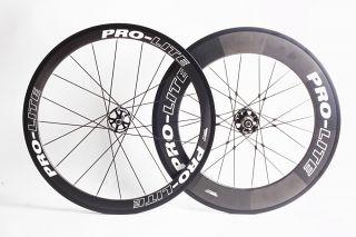 Pro Lite 700c Road Bike Gavia P59 Wheels Carbon Tubular F50 R90MM