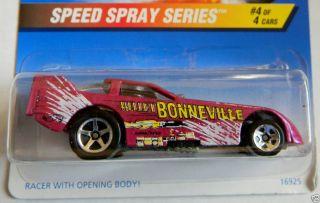 1997 Hot Wheels Speed Spray Series 552 Funny Car