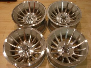 15x8 5 American Racing Turbine Hurricane Wheels Rims 5x4 5 Ford Mopar