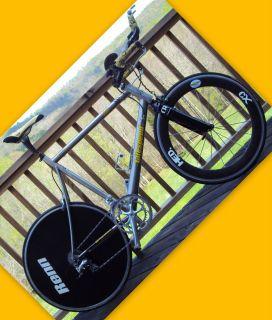 Litespeed Blade 59 cm Titanium Triathlon Bike w Race Wheels