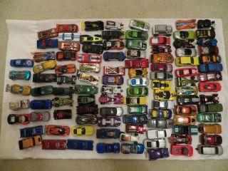 100 + Huge Lot , Hot Wheels & Matchbox Cars, Trucks, Ect