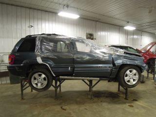 2001 Jeep Grand Cherokee Wheel Rim 17x7 Alum
