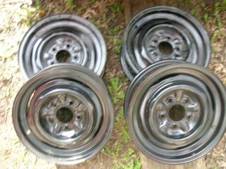 GM 1956 1962 CORVETTE WHEELS RIM 57 58 59 60 61 62 set of 4 283 327