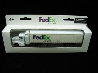 Ground Semi Tractor Trailer Delivery Truck Replica Toy Daron 10 Wheels