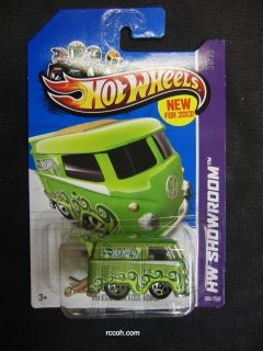 MATTEL KOOL KOMBI VW BUS 2013 Hot Wheels 1 64 Scale HTF RARE NEW MODEL