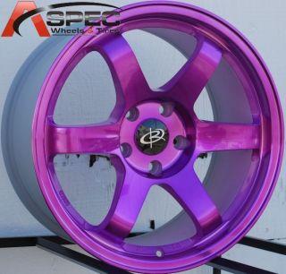 17x9 Rota Grid Wheels 5x114 3 IK R Rims 25mm Fits Honda Accord 2003