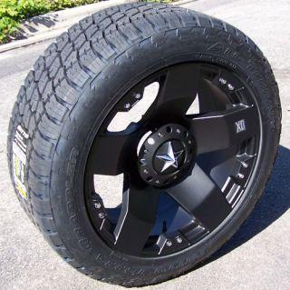 18 Rockstar Wheels Nitto Terra Grappler Tire Jeep JK