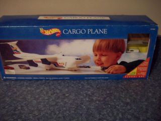 Wheels RARE  Cargo Plane Transport 2 exclusive Cars Ford Delivery 57