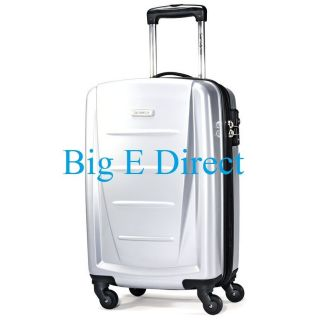 Silver Samsonite Winfield 2 20 Spinner Wheels Carry on Upright